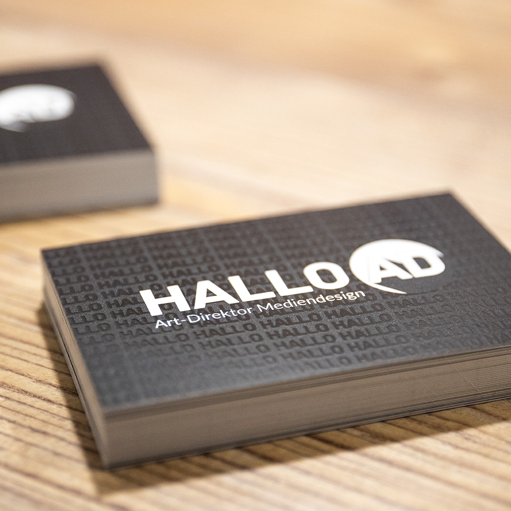 Business Cards Visitenkarten Digitalisierend