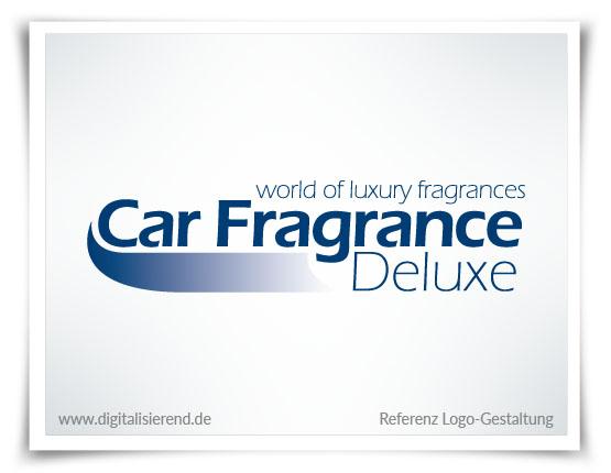 Logo, Gestaltung, Referenz, Car Fragrance Deluxe, digitalisierend, Dirk Neumann, Hallo AD