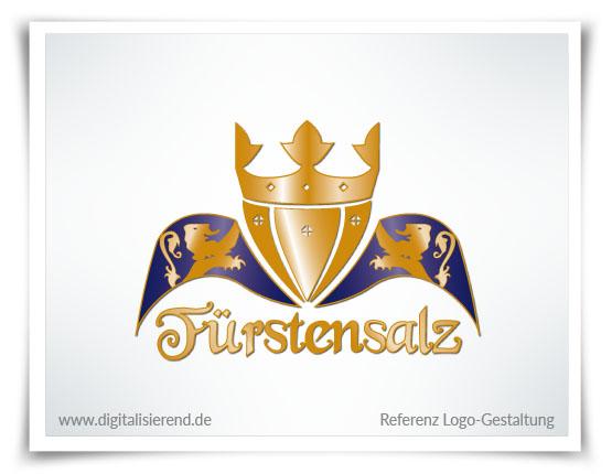 Logo, Gestaltung, Referenz, Fürstensalz, digitalisierend, Dirk Neumann, Hallo AD