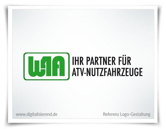 Logo, Gestaltung, Referenz, W4A, digitalisierend, Dirk Neumann, Hallo AD