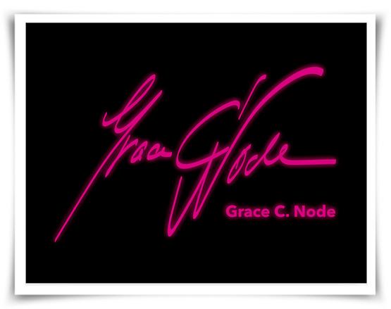 Wort-Bildmarke, Logo, Referenz, Grace C. Node, Buchautorin