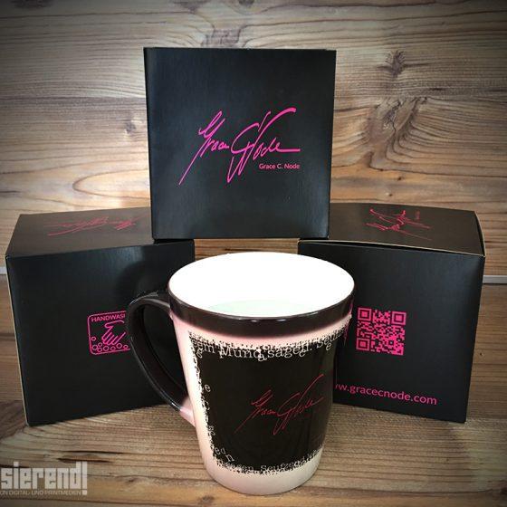 Magic-Cup, Latte, Tasse, digitalisierend, exklusiv, Gracecnode