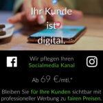 Das Leben ist digital. Ihr Kunde ist digital. Ist Ihre Werbung auch digitalisierend!? - Sozial Media-Kanal-Pflege bereits ab 69 EURO